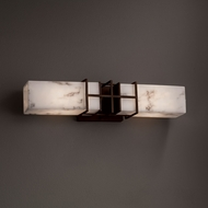Justice Design FAL-8642 Structure LumenAria 2-Light Bath Sconce