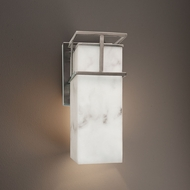 Justice Design FAL-8644W Structure LumenAria Outdoor Sconce Lighting
