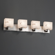 Justice Design FAL-8924 Modular LumenAria 4-Light Bathroom Vanity Light Fixture