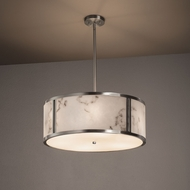 Justice Design FAL-9542 Tribeca LumenAria Drum Drop Lighting Fixture