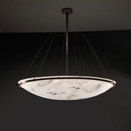 Justice Design FAL-9698 Ring LumenAria Flush Mount Light Fixture