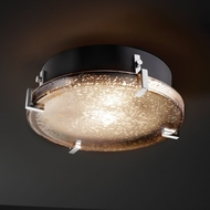 Justice Design FSN-5545-FM Fusion� Artisan Glass 12.5  Wide Overhead Lighting Fixture