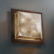 Justice Design FSN-5567-WS Fusion� Artisan Glass 4 Tall Wall Sconce Lighting