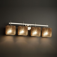 Justice Design FSN-8414 Union Fusion 4-Light Bathroom Light Sconce