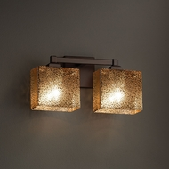 Justice Design FSN-8432 Regency Fusion 2-Light Bathroom Wall Light Fixture