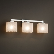 Justice Design FSN-8433 Regency Fusion 3-Light Bathroom Lighting