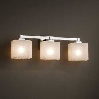 Justice Design Fsn 8433 Regency Fusion 3 Light Bathroom Lighting Jus Fsn 8433