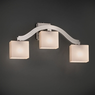Justice Design FSN-8976 Bend Fusion Wall Sconce Lighting