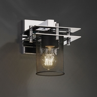 Justice Design MSH-8171 Wire Mesh Modern Wall Lamp