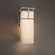 Justice Design PNA-8641W Structure Porcelina Outdoor Lamp Sconce