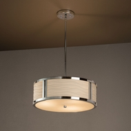 Justice Design PNA-9541 Tribeca Porcelina Drum Pendant Lighting