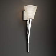 Justice Design POR-8791 Sabre Limoges Wall Sconce Light