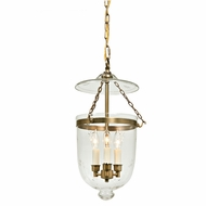 JVI Designs 1012 Transitional 3 Candle 24 Inch Tall 13 Inch Diameter Pendant Lighting