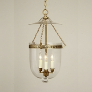JVI Designs 1026 Transitional 22 Inch Tall 3 Candle Hanging Light Fixture