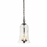 JVI Designs 1035 Transitional 3 Candle Mini Pendant Lighting With Finish Options