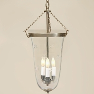 JVI Designs 1098 Large Transitional Style 21 Inch Tall Hanging Light With Finish Options