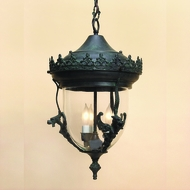 JVI Designs 1105 Traditional 16 Inch Tall Exterior Pendant Lighting Fixture