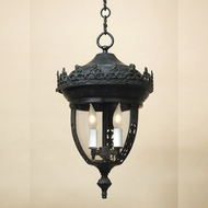 JVI Designs 1120 Outdoor 3 Candle 27 Inch Tall Hanging lamp