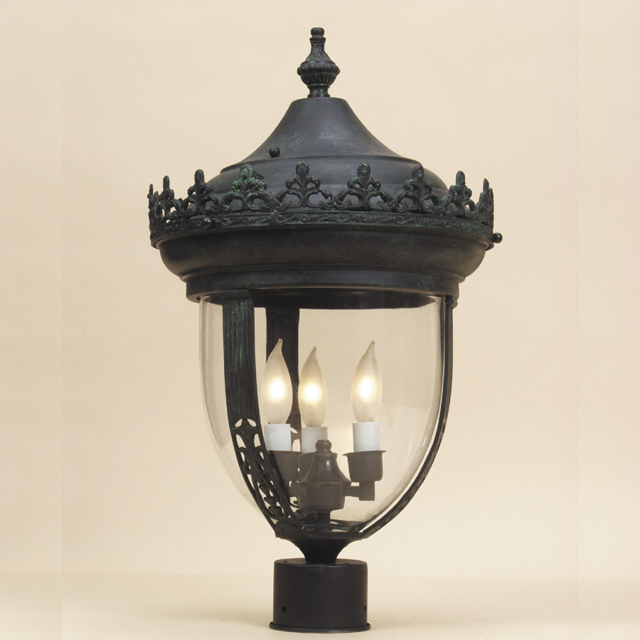 Jvi designs 1122 3 candle antique style 27 inch tall exterior jvi designs 1122 3 candle antique style 27 inch tall exterior lighting post lamp loading zoom aloadofball Image collections