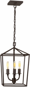 JVI Designs 1140-08 Austin Oil Rubbed Bronze Foyer Lighting