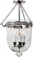 JVI Designs 1151-15 Kensington Polished Nickel Entryway Light Fixture