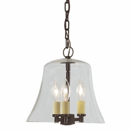 JVI Designs 1183-08 Greenwich Oil Rubbed Bronze Finish 10  Wide Pendant Lighting