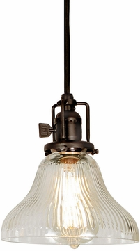 JVI Designs 1200-08-S11-CR Union Square Oil Rubbed Bronze Mini Lighting Pendant