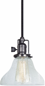 JVI Designs 1200-18-S11-CB Union Square Gun Metal Mini Lighting Pendant