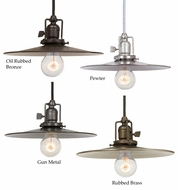 JVI Designs 1200-M1 Union Square Metal Shade 10 Inch Diameter Pendant Light Fixture