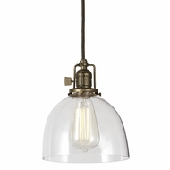 JVI Designs 1200-S5 Union Square 7 Inch Diameter Vintage Mini Drop Ceiling Lighting