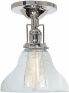 JVI Designs 1202-15-S11-CB Union Square Polished Nickel Flush Mount Lighting