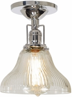 JVI Designs 1202-15-S11-CR Union Square Polished Nickel Overhead Lighting