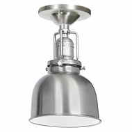 JVI Designs 1202-17-M2 Union Square Pewter Finish 8.75  Tall Overhead Lighting Fixture