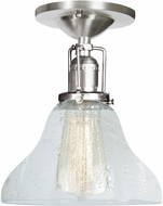 JVI Designs 1202-17-S11-CB Union Square Pewter Home Ceiling Lighting