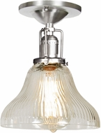 JVI Designs 1202-17-S11-CR Union Square Pewter Overhead Light Fixture