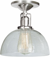 JVI Designs 1202-17-S12-CB Union Square Pewter Overhead Lighting Fixture