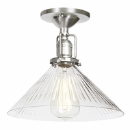 JVI Designs 1202-17-S2-CR Union Square Pewter Finish 7.5  Tall Overhead Lighting