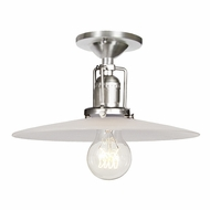 JVI Designs 1202-17-S6-F Union Square Pewter Finish 6.25  Tall Ceiling Lighting