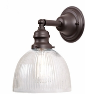 JVI Designs 1210-08-S5-CR Union Square Oil Rubbed Bronze Wall Lighting Sconce