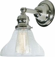 JVI Designs 1210-15-S11-CB Union Square Polished Nickel Sconce Lighting