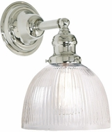 JVI Designs 1210-15-S5-CR Union Square Polished Nickel Wall Sconce Lighting