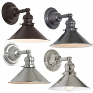 JVI Designs 1210-M3 Union Square Retro Wall Sconce Lighting