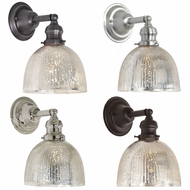 JVI Designs 1210-S5-SR Union Square Retro Wall Sconce Lighting