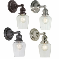 JVI Designs 1210-S9 Union Square Vintage Wall Light Fixture