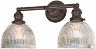 JVI Designs 1211-08-S5-MP Union Square Madison Contemporary Oil Rubbed Bronze 2-Light Bathroom Lighting Fixture