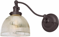 JVI Designs 1253-08-S5-MP Soho Madison Contemporary Oil Rubbed Bronze Wall Swing Arm Lamp