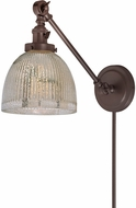 JVI Designs 1255-08-S5-MP Soho Madison Contemporary Oil Rubbed Bronze Wall Swing Arm Light