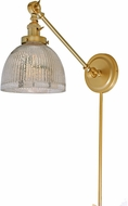 JVI Designs 1255-10-S5-MP Soho Madison Modern Satin Brass Swing Arm Wall Light