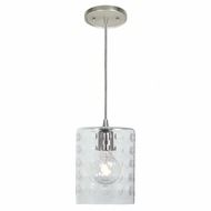 JVI Designs 1300-17-G10 Grand Central Pewter Finish 8.5  Tall Mini Hanging Light