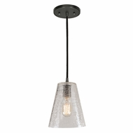 JVI Designs 1300-18-G2-CK Grand Central Gun Metal Finish 7.5  Wide Mini Pendant Hanging Light